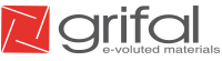 Grifal – e-voluted materials Logo