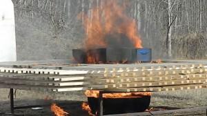 Test ISTA prova incendio