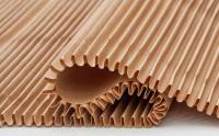 particolare cartone ondulato cushionPaper