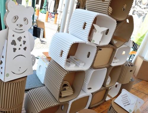 Mondaplen, cArtù and Cartunia Design at  Environmental Festival