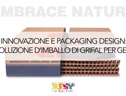 Innovazione e packaging design: la soluzione d'imballo Grifal per Gewiss