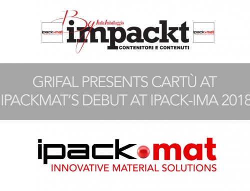 Grifal presents cArtù at the debut of IPACK-Mat 2018
