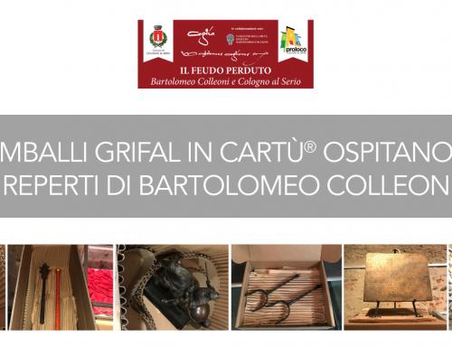 Soluzioni Grifal in cArtù ospitano i reperti di Bartolomeo Colleoni