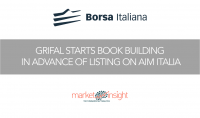 borsa italiana book building grifal