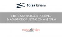 borsa italiana book building grifal