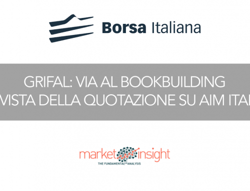 Grifal: via al bookbuilding in vista della quotazione su AIM Italia