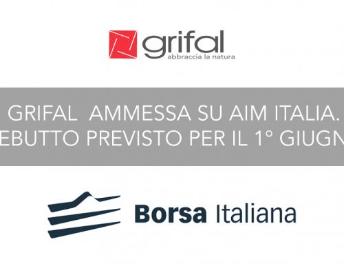 Grifal debutta su AIM Italia l'1 giugno 2018