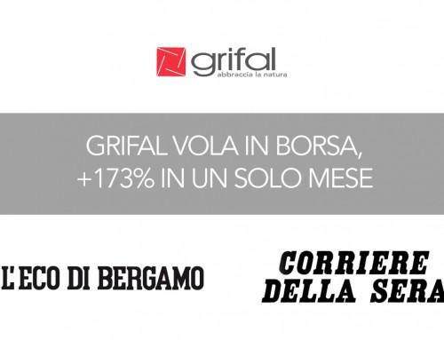 Corriere della Sera e L'Eco di Bergamo raccontano il successo del primo mese in Borsa