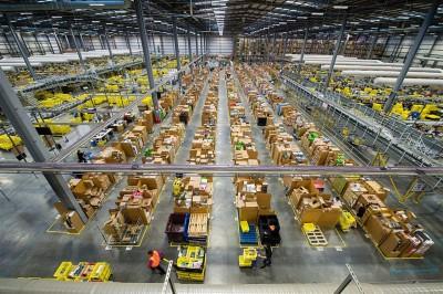 amazon magazzino cartone imballaggi packaging