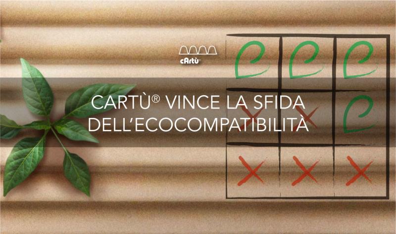 Perché cArtù® è più ecologico
