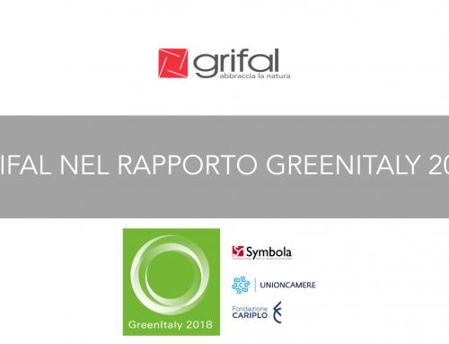 Grifal inclusa in GreenItaly 2018. Il commento della Responsabile Marketing Giulia Gritti