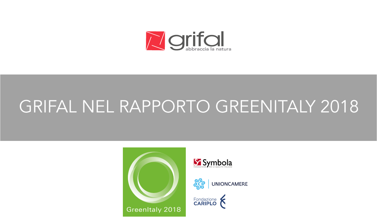 grifal in greenitaly 2018 Symbola