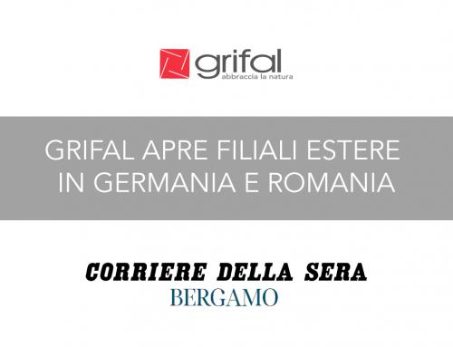 Una filiale Grifal a Stoccarda e la produzione in Romania