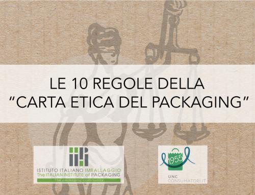 LE 10 REGOLE DELLA CARTA ETICA DEL PACKAGING