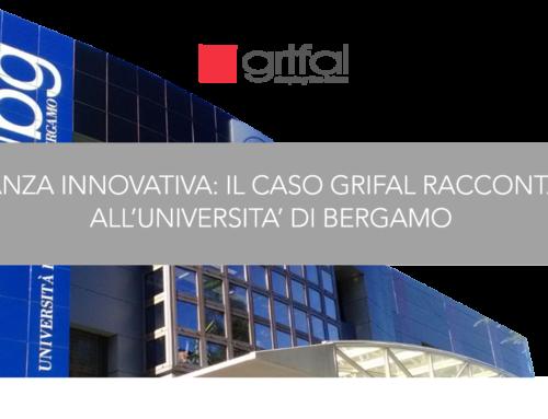 Grifal sul palco dell'Università degli studi di Bergamo a quasi due anni dal debutto in Borsa