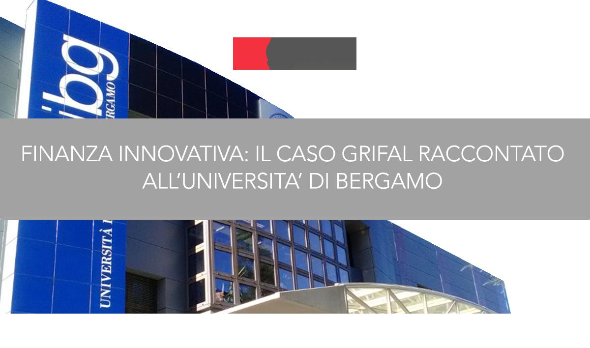 Grifal ha portato sul palco dell'Università degli studi di Bergamo la propria testimonianza a quasi due anni dal debutto in Borsa