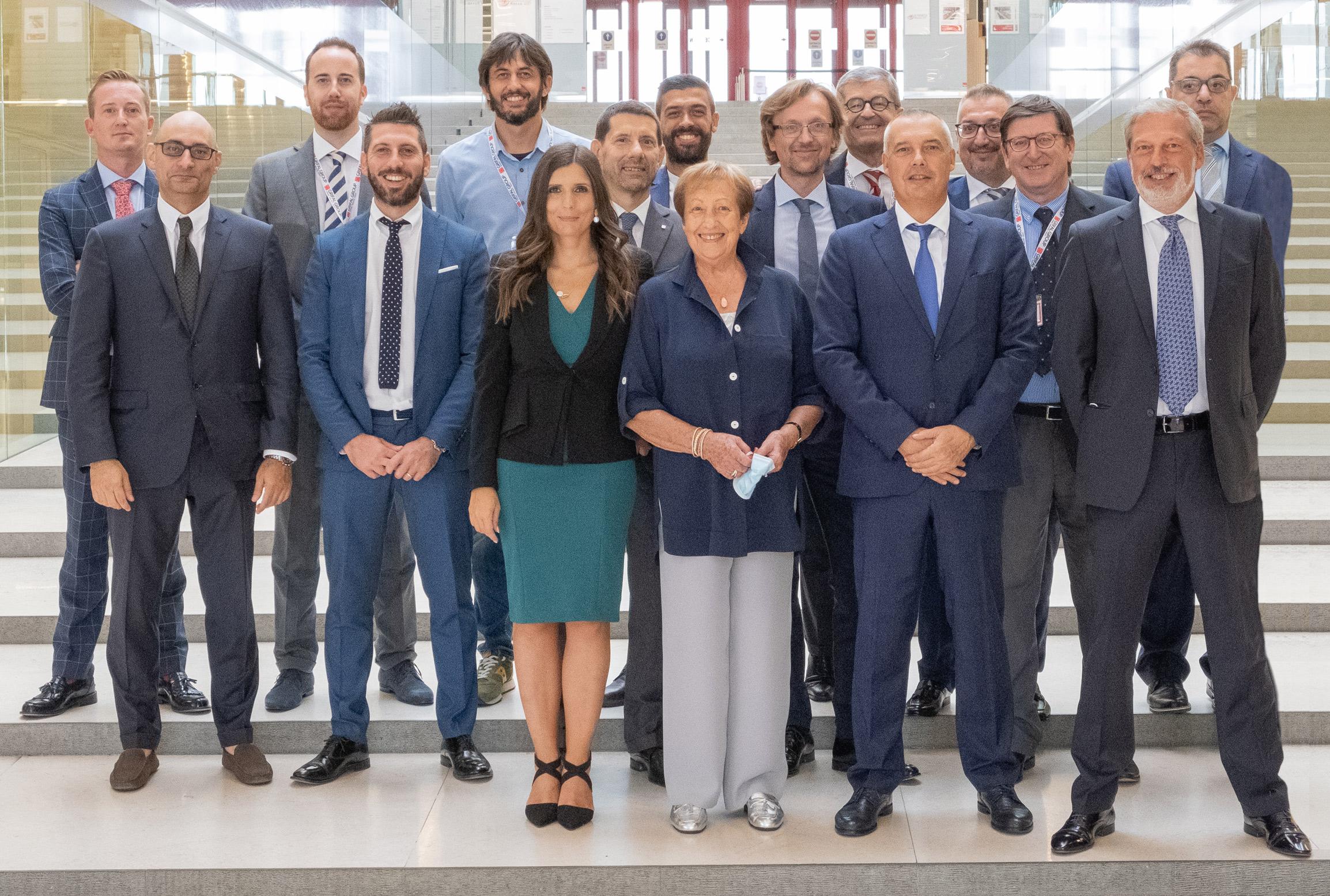 Dirigenti e persone chiave del Grifal Group